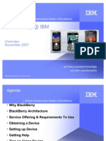 Blackberry at IBM Education Overview1
