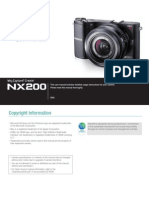 Samsung Camera NX200 English User Manual