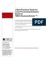 TIBCO BE Sol Best Practices v0.4