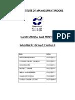 Case Analysis Suzuki Samurai Group 9 Sec D