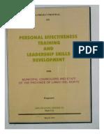 Personal Effectiveness Training and Leadership Skills