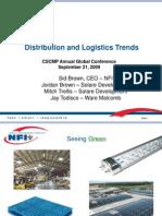Distribution Logistics Trends