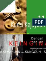 11 kunci kejayaan