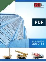 Revathi Annual Report 2010-11