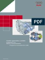 cambio automatico variable multitronic diseno y funcionamiento