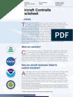 Contrails Factsheet (EPA)