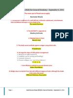 Saudi License Exam (SLE) for General Dentistry– Sep 6, 2011