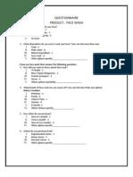 Questionnaire_Group 11_Face Wash (1)