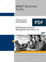 ABAP Runtime Tools