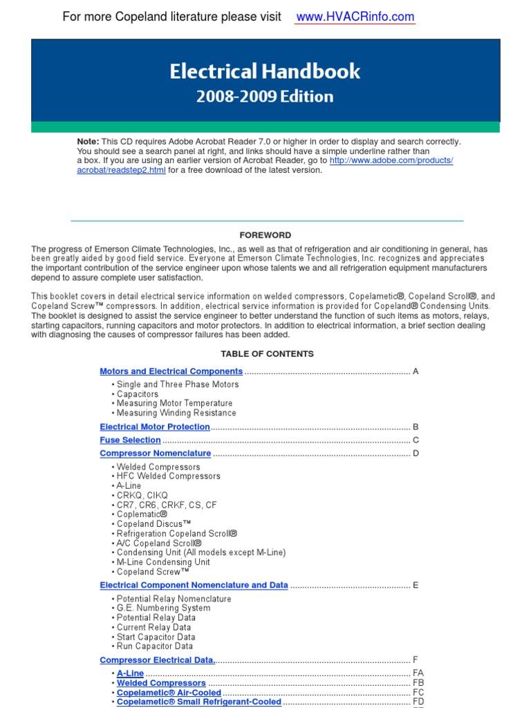 Elect Handbook Capacitor Resistor