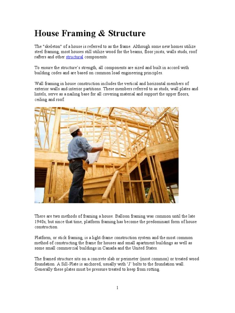 House Framing & Structure | Framing (Construction) | Building ...