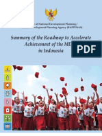 6 Summary of the Roadmap to Accelerate Achievement of the Mdgs in Indonesia 201011181327281 20110812135234 0