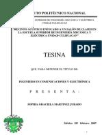 ACONDICIONAMIENTO ACÚSTICO TESINA LICENCIATURA