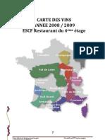 Carte Des Vins (2) 2008 Escf Nov