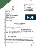 Axxess sues Robert Almblad David Richards declaration & exhibits