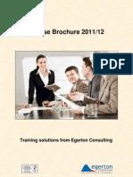 ECL Course Brochure 2011-12