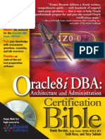 Oracle8i DBA Bible