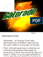 Case Study Gatorade