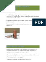 Valor da dívida pública portuguesa famata 11º tv economia