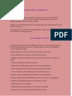 Qual o valor da dívida pública portuguesa