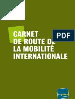 Carnet De Route 2011 De La Mobilité Internationale