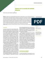 Teoria de La Cascada Del Beta Amiloide Alzheimer