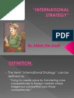 International Strategy Final