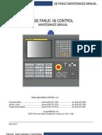 GE Fanuc 18i Maintenance Manual
