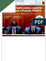 Jornal de Negócios - Sector privado passa a ganhar mais do que a função pública