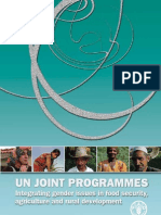 Integrating Gender in Agriculture - Fao