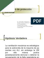 Ventilación de proteccion pulmonar