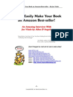 Life Skills - Writing - Joe Vitale - How To Easily Make Your Book An Amazon Best Seller