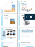 Foundation of Engineering Chapter 1 to 2