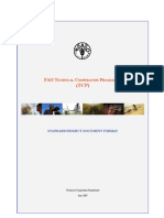 Standard Project Document Format TCP English