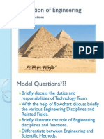 Foundation of Engineering Model Paper
