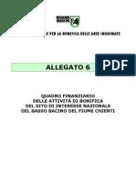 Quadro Finanziario Basso Chienti BONIFICA