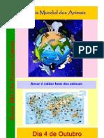 Cartaz Dia Mundial Dos Animais