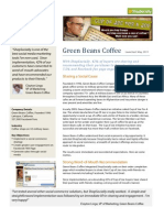 ShopSocially Success Story with Green Beans Coffee