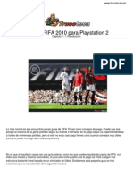 Fifa 2010 Playstation 2
