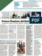 Franco Graziosi, dal Gad a Strehler - Il Resto del Carlino del 15 ottobre 2011