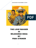 Lone Ranger in Wild Horse Canyon