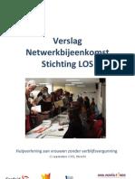 Verslag Netwerkbijeenkomst Stichting Los