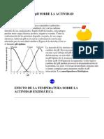 EFECTO DEL pH SOBRE LA ACTIVIDAD ENZIMÁTICA
