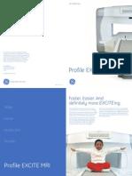 MRI GE Profile Brochure