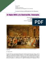 1. El Siglo XVIII y la Ilustración. Concepto
