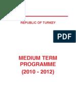 2010-2012 Medium-Term Programme