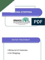 Ammonia Stripping