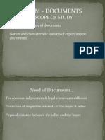 Exim Documents