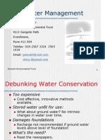 Urban water Mangament