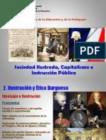 11. Ilustración, Educación, Rousseau y Condorcet. 2011
